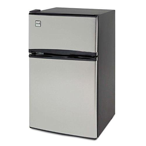 counter two door refrigerator freezer