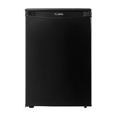 Danby DAR026A1BDD-6 2.6 Cubic Feet Freestanding Refrigerator, Black