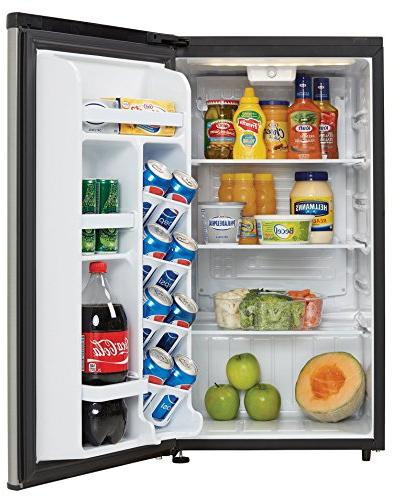 Danby 3.3 ft. All Refrigerator, Black