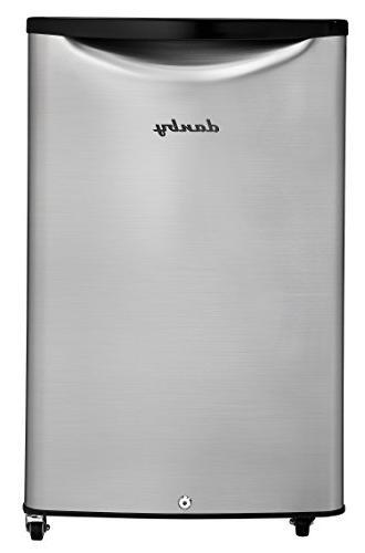 Danby DAR044A6BSLDBO 4.4 Outdoor Rated All Refrigerator, Spotless Steel