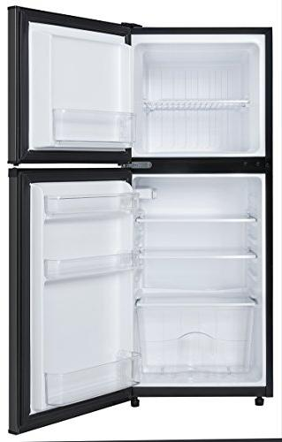 Danby Compact Refrigerator, Black Stainless