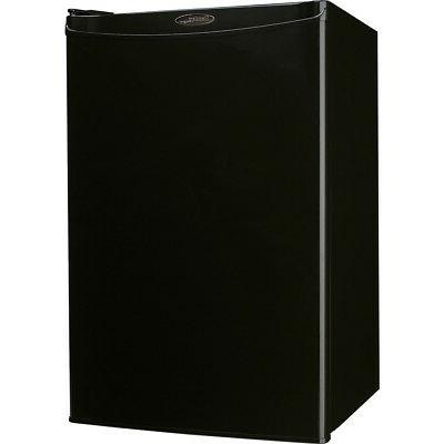 designer 4 4 cu ft compact refrigerator