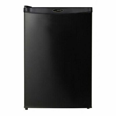 Danby Foot Home Fridge Compact Refrigerator, Black