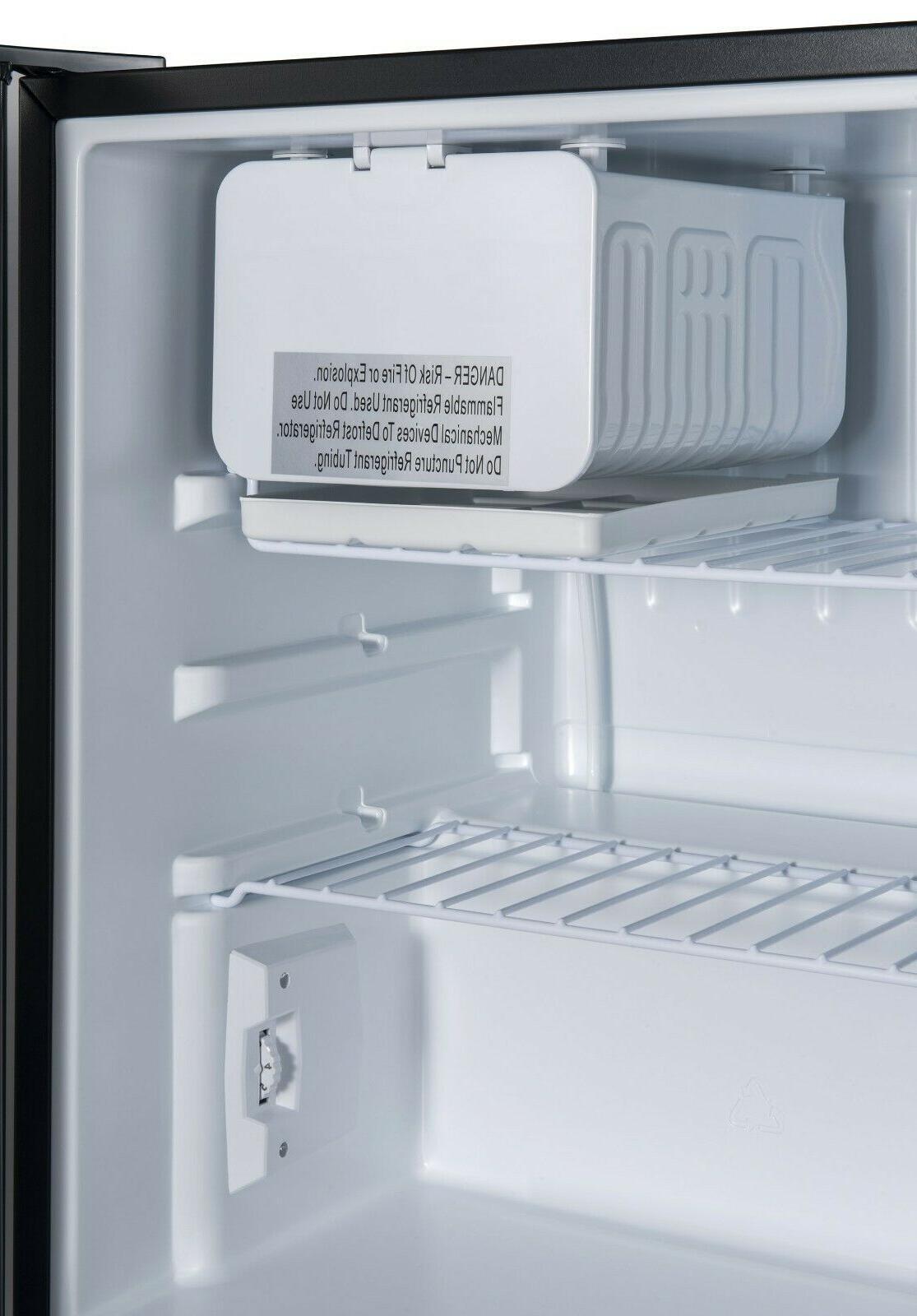 Galanz 2.7 Cu Single Door Freezer Small Stainless Steel
