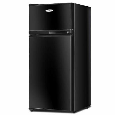 Double Doors cu ft. Refrigerator Freezer Cooler