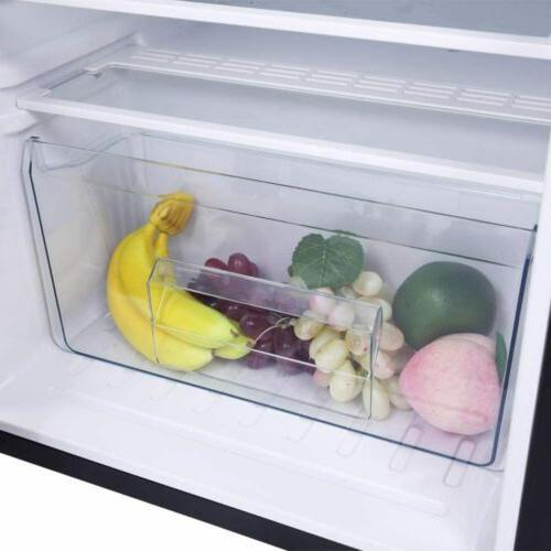 Double Doors Refrigerator Cooler Fridge Saving You Space
