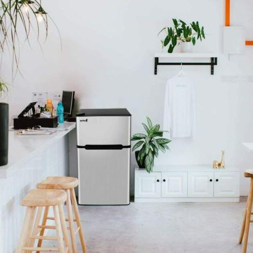 Double Refrigerator Saving Space