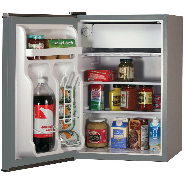 Energy Star Refrigerator Freezer 2.5 Cu adjustable thermostat 46.3 lbs