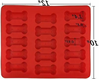 GYBest GGT01 Grade Large Silicone Molds, Red