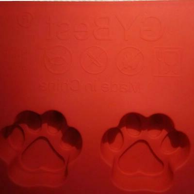 GYBest GGT01 Food Grade Large Ice Trays, Silicone Red