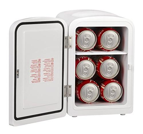 Gourmia GMF600 Portable 6 Can Cooler and for ,Office, Car or AC -