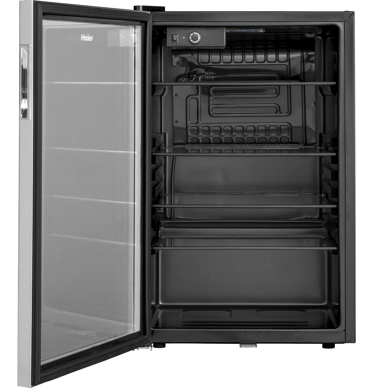 150 Can Beverage Center Mini Refrigerator Glass