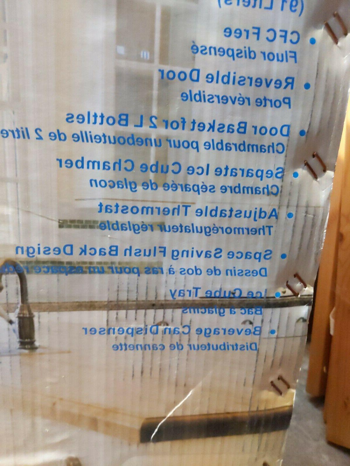 Igloo Refrigerator Open Box Cosmetic Damage 3.2