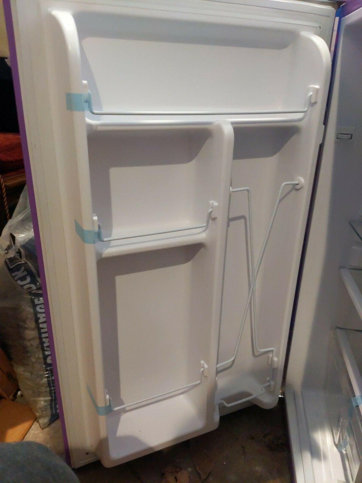 Igloo Mini Refrigerator Purple Open Box 3.2 Cu