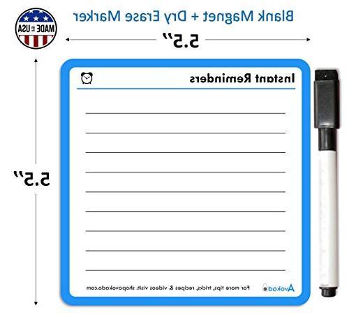 Set | 4 Easy Reference Magnets Pot, Fridge, or | Cookbook, Companion MADE