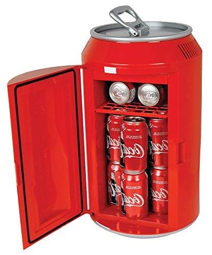 Coca-Cola Koolatron Can-Shaped 12-Can-Capacity Red