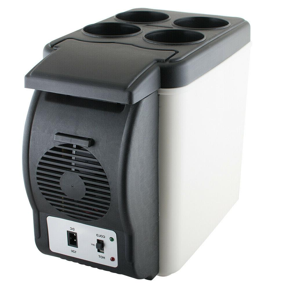 Portable Electric Car Mini Fridge Refrigerator Cooler Warmer