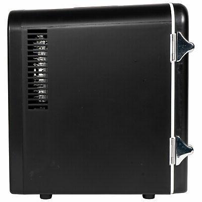 RCA 6 Refrigerator Black