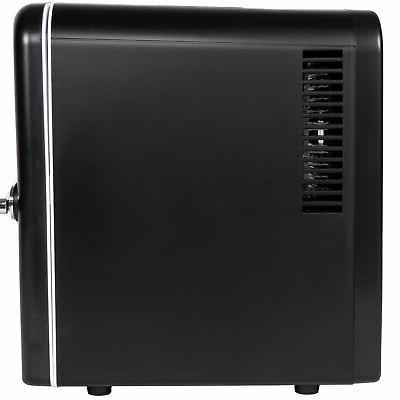 RCA 6 Can Compact Refrigerator and Black