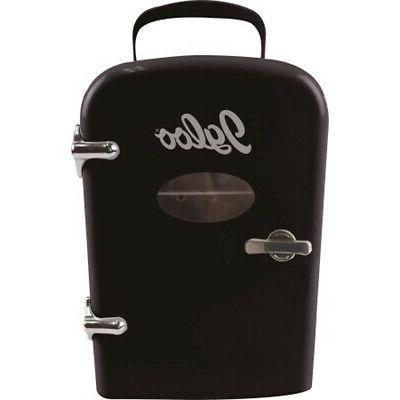 RCA Retro Fridge 6 Beverage Refrigerator Black