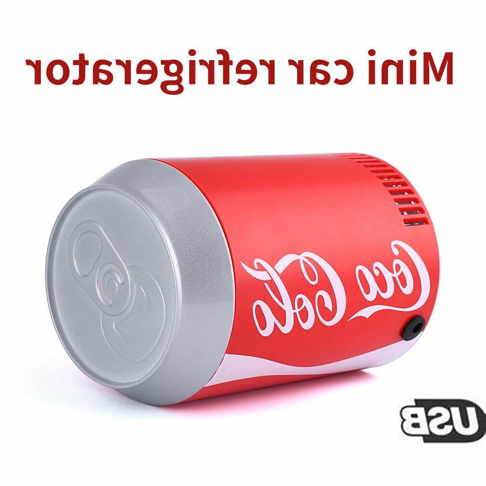 USB Mini Coca Cola Refrigerator Autocar Refrigerator Portabl
