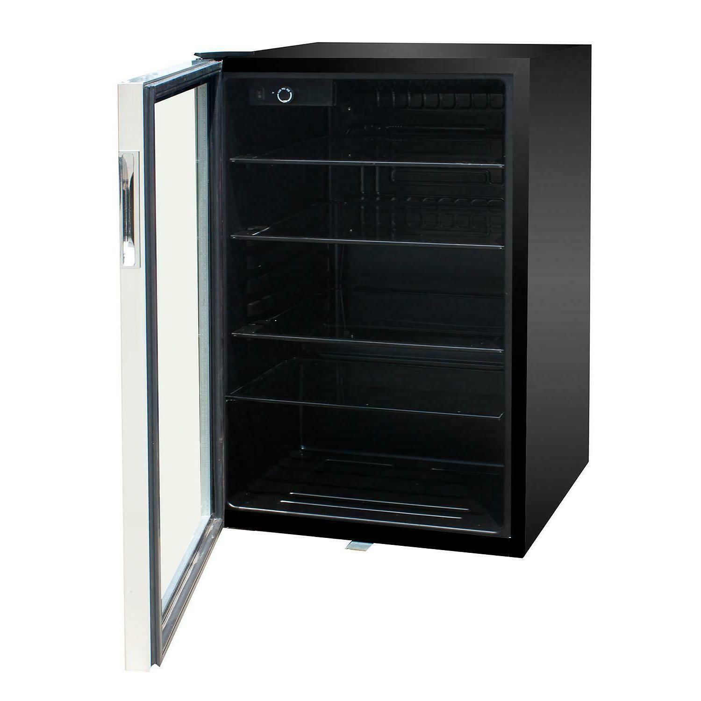 mini fridge beverage cooler refrigerator adjustable thermost