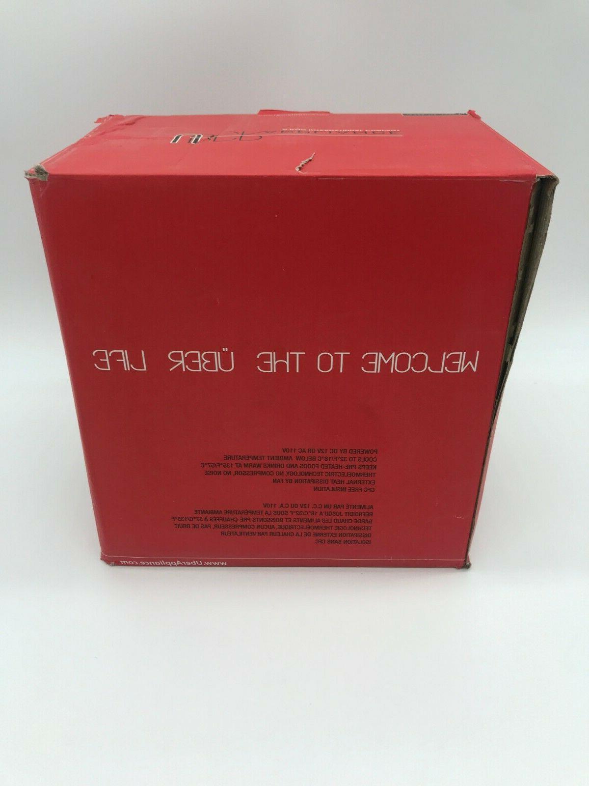 Mini Appliance Chill UB-CH1 Portable Cooler Gunmetal NEW