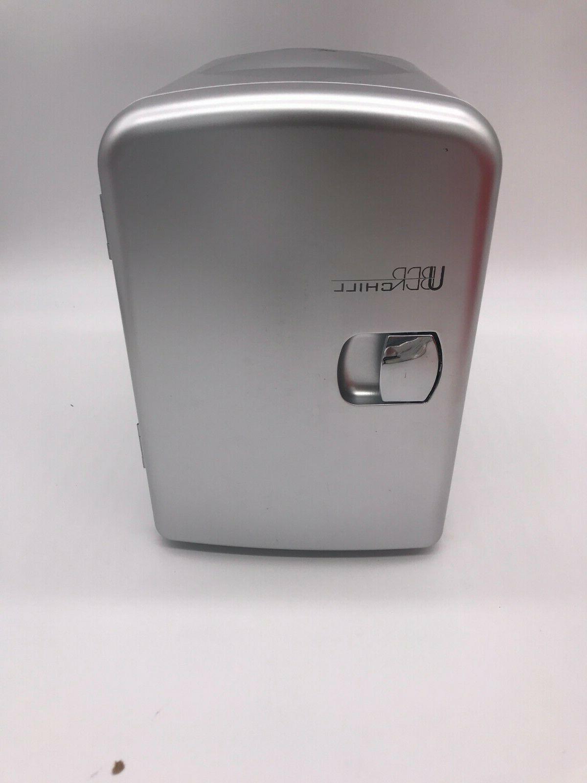 Mini Chill UB-CH1 Car Cooler Gunmetal Cans NEW