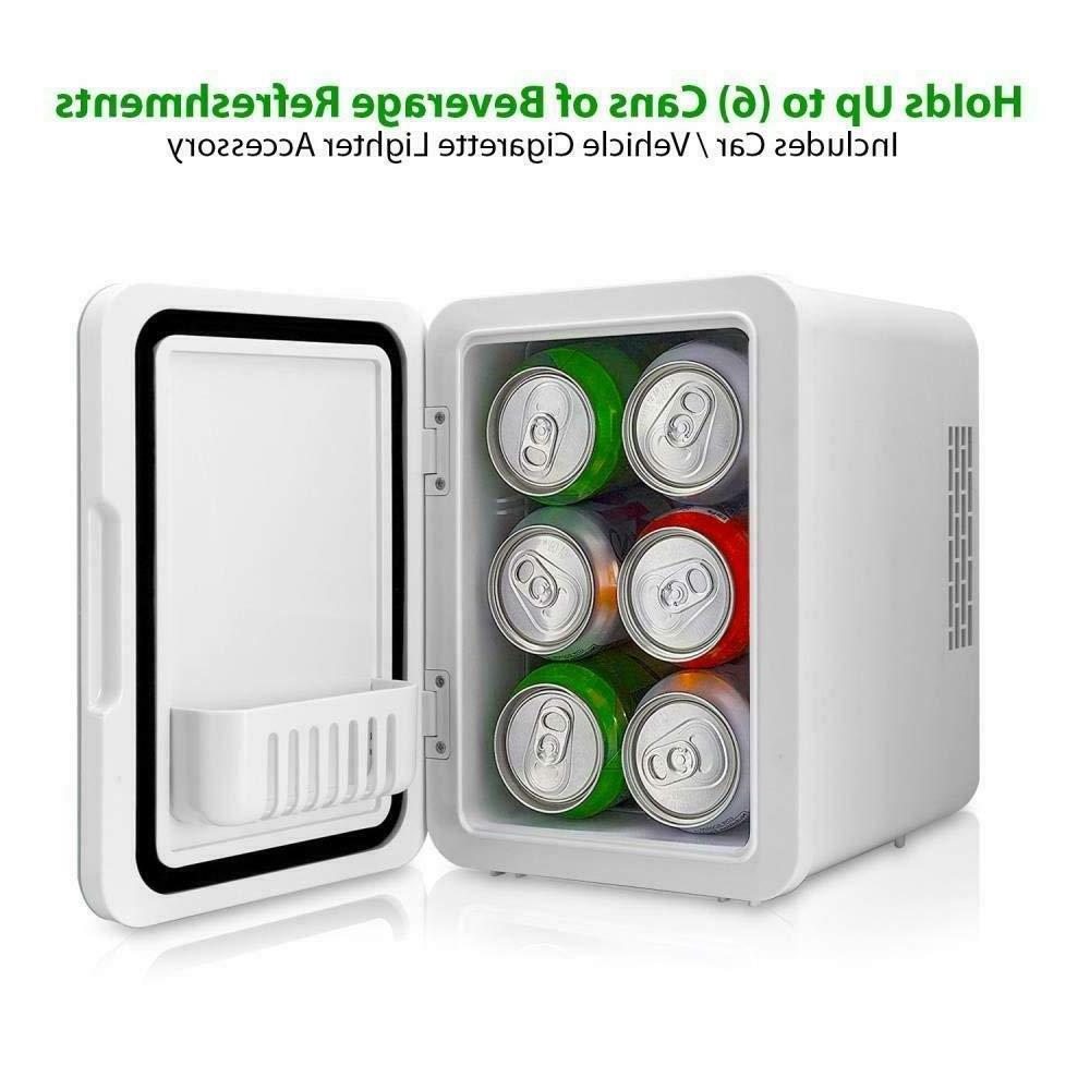 mini fridge cooler warmer 4l pktcec4bl portable