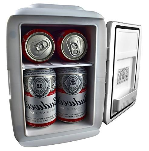 Cooluli Fridge Cooler Warmer AC/DC Portable Thermoelectric w/ Exclusive Go USB Power Option