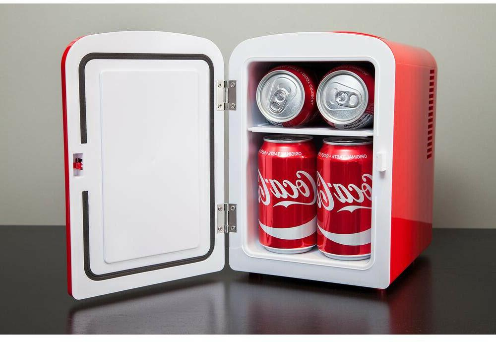 Mini Refrigerator Coca-Cola Koolatron Desktop Retro Cooler