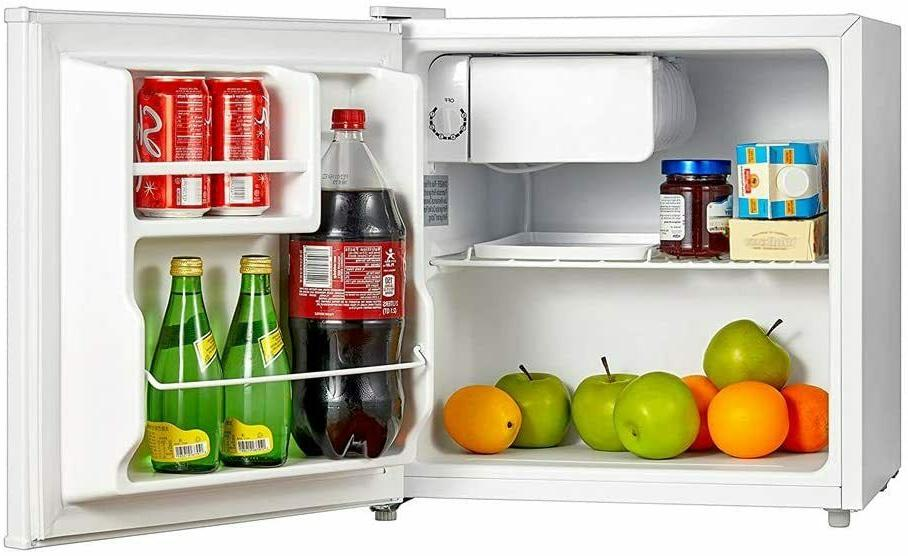 mini fridge small refrigerator freezer 1 6