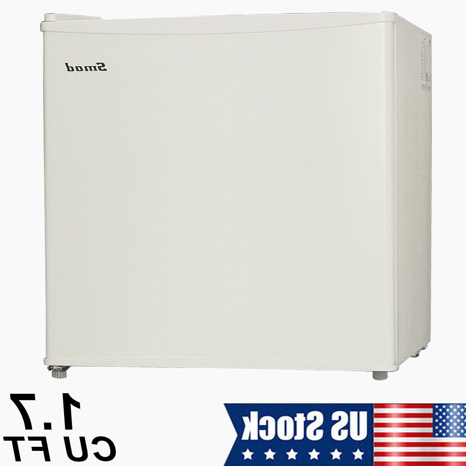 mini fridge small refrigerator freezer 1 7