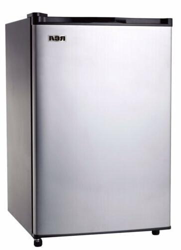 mini fridge stainless steel 2 6 cu