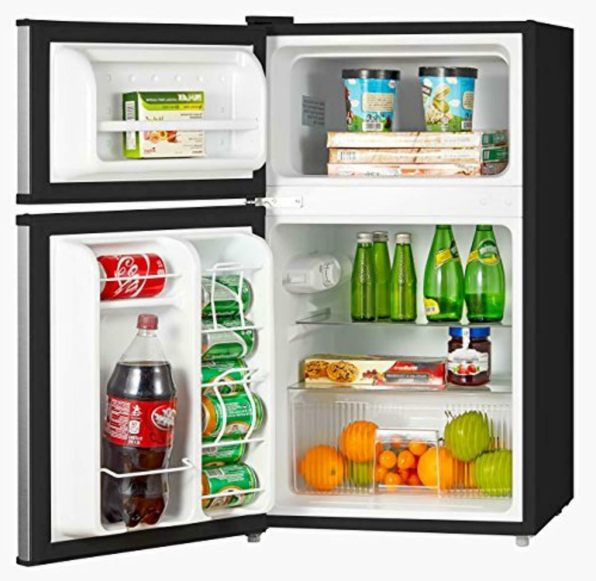 Mini Double Compact Refrigerator 3