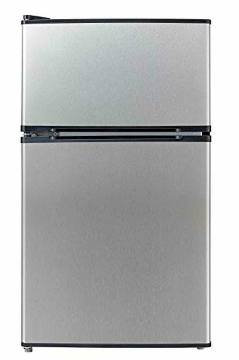 Mini Double Door Midea Compact Refrigerator