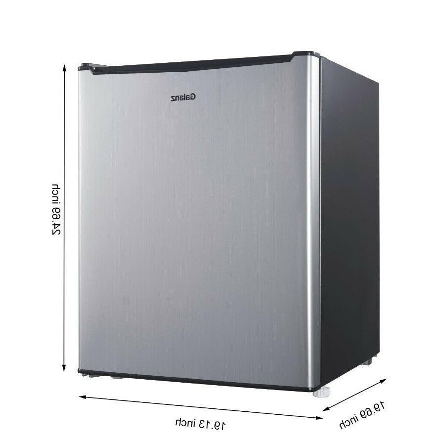 Mini with Refrigerator Dorm Room Cooler Office 2.7 Cu