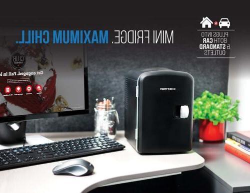 Mini Fridges, Chefman Portable Compact Personal Cools Heats