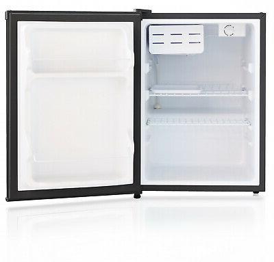 Mini Refrigerator 2.4 Ft Single Small Dorm