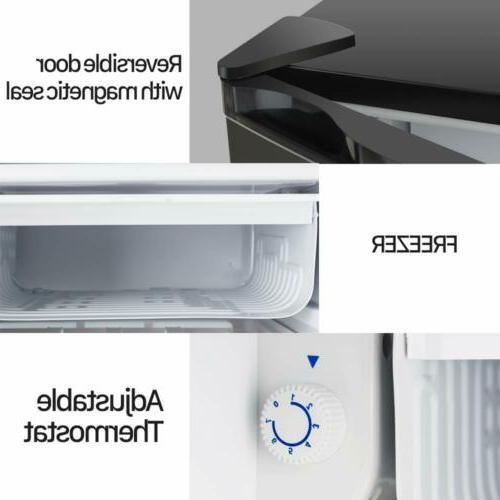 Mini Compact Refrigerator 3.2