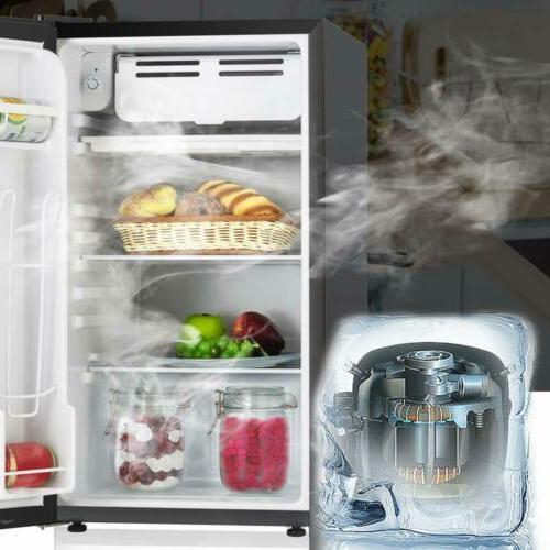 Mini Refrigerator Fridge Refrigerator Glass 3.2