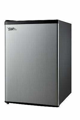 Mini Refrigerator Single Door Compact Mini Fridge Cooler 2.4