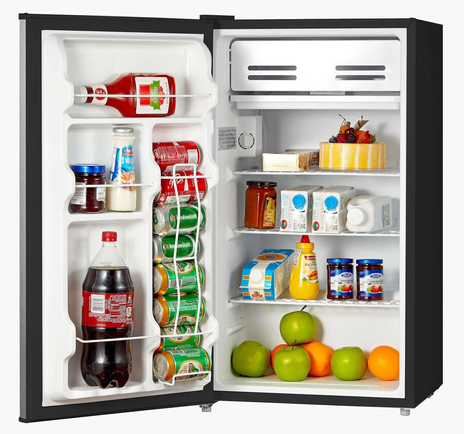 mini small fridge compact food refrigerator kitchen