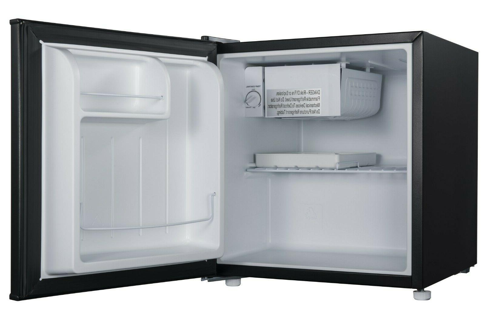 Galanz 1.7 Single Door GL17BK, Black Shelf