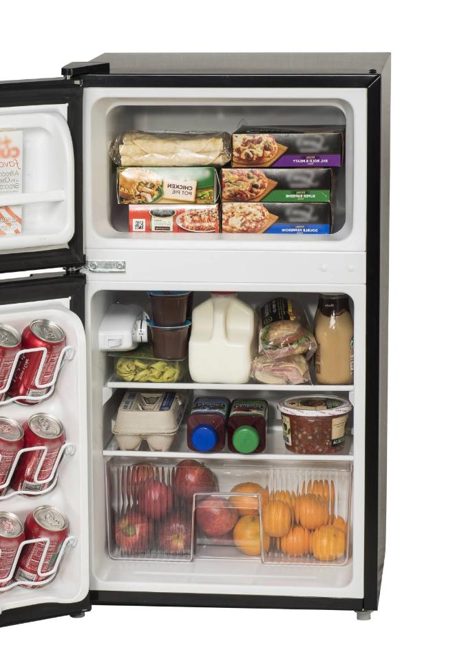New 3.2 Mini Dorm Office Compact Freezer Cooler