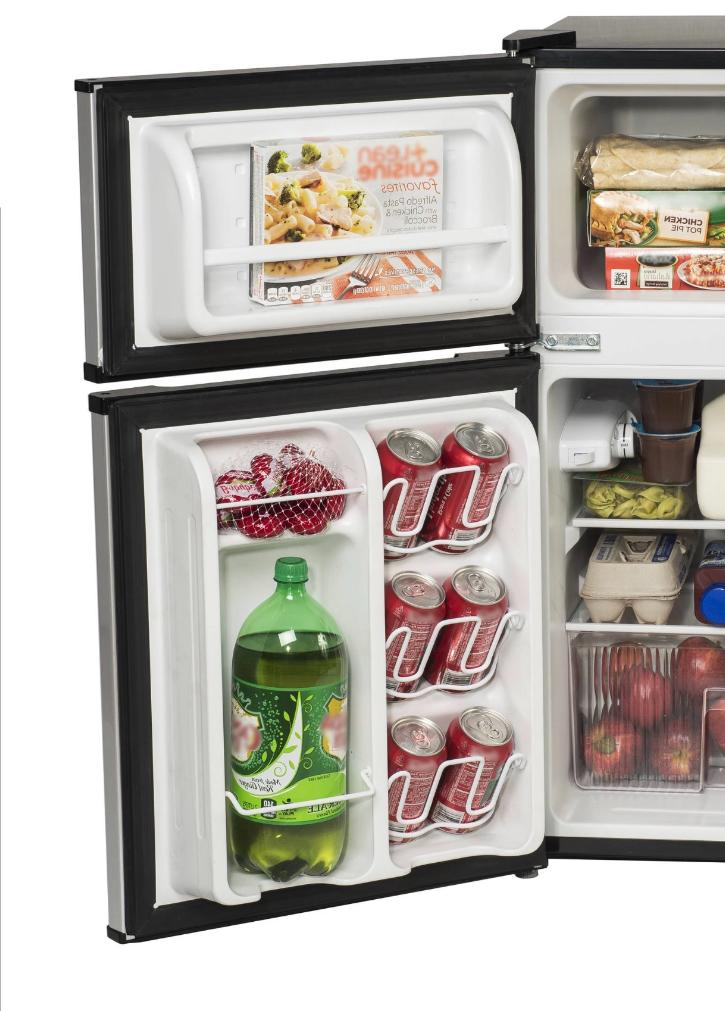 New Mini Fridge Office Compact Small Cooler