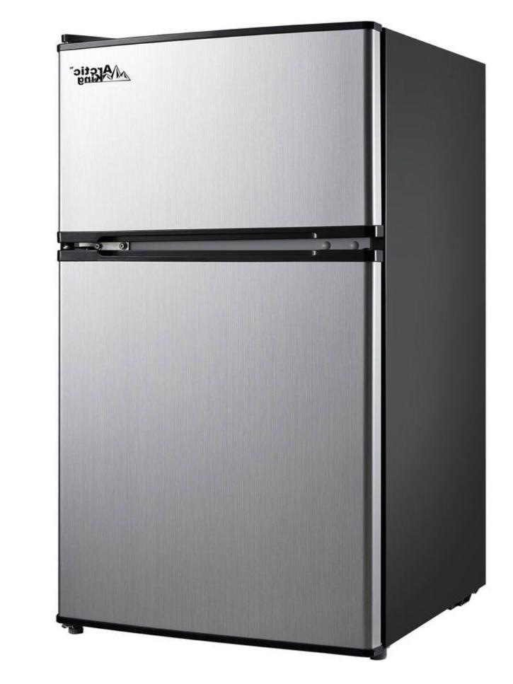 New 3.2 Cu Mini Office Compact Refrigerator Freezer Cooler
