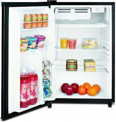 New 4.5 Single Door Cooler Freezer Compact Black