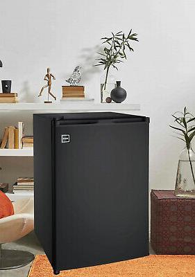 New 4.5 Single Door Cooler Freezer Black