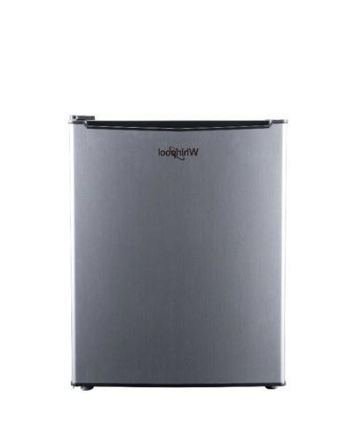 new mini compact small refrigerator stainless steel